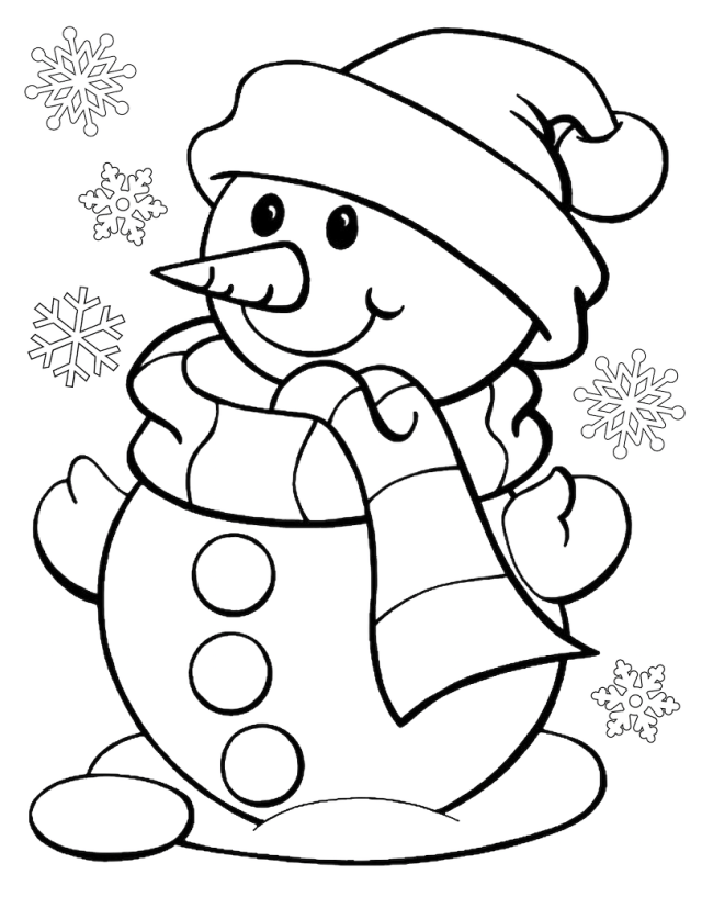 Top 22 Printable Christmas Coloring Pages - Online Coloring Pages