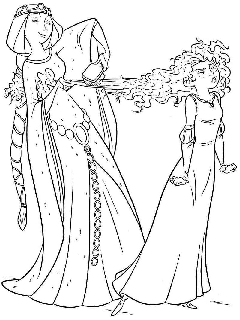 Top 20 Printable Merida Coloring Pages Online Coloring Pages