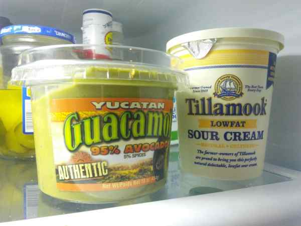 Don't forget the Guacamole and Sour Cream!