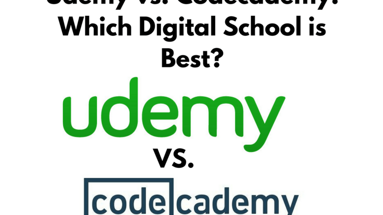 Udemy vs  Codecademy: Which Learning Platform is Best