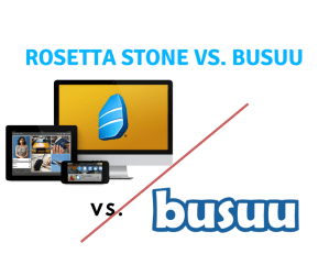 Rosetta Stone vs busuu: Is the Pedigree Truly Superior to the Underdog?