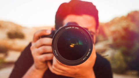 Learn professional photography from scratch with Udemy