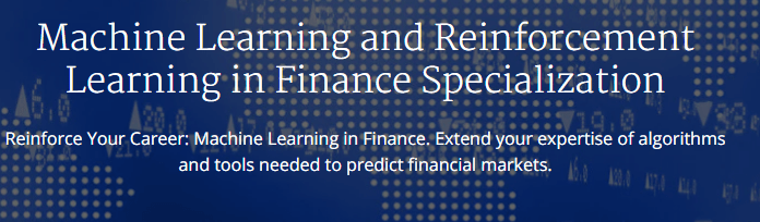 Machine Learning and Reinforcement Learning in Finance