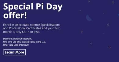 pi day promo 2020
