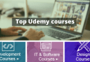 List of top udemy courses