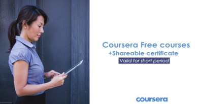 100+ Coursera Courses Free Until 31st December – View the list