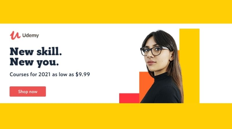 Udemy new year offer 2021