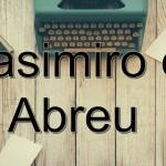 2 Livros de Casimiro de Abreu para Baixar em PDF