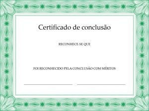 15 Modelos De Certificados E Diplomas Em Branco Para Baixar