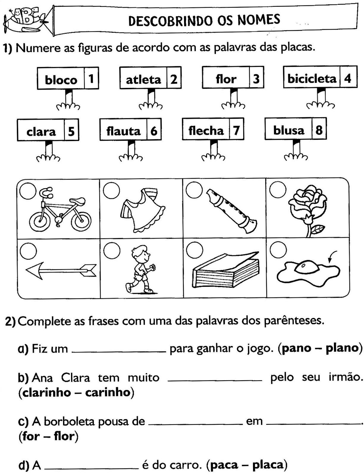 90 atividades de portugu u00eas do 3 u00ba ano ensino fundamental para imprimir