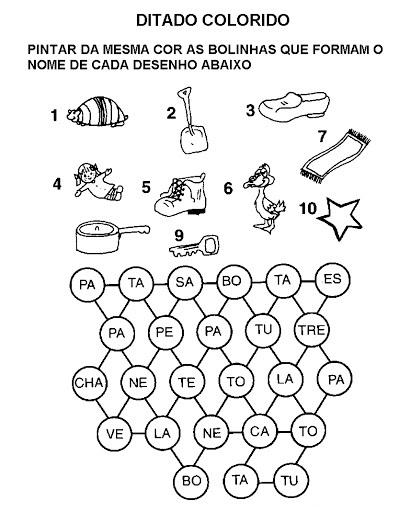 100 Folhas De Ditado Para Imprimir Atividades Para Educacao