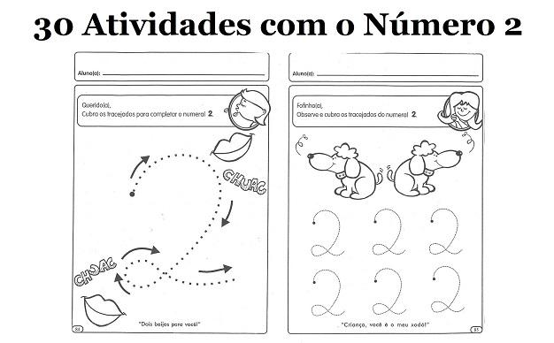 30 Atividades Com O Numero 2 Para Imprimir Educacao Infantil E