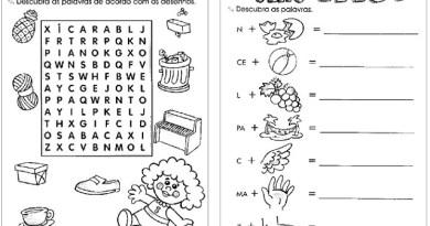 246 Atividades de Alfabetização para Educação Infantil em PDF