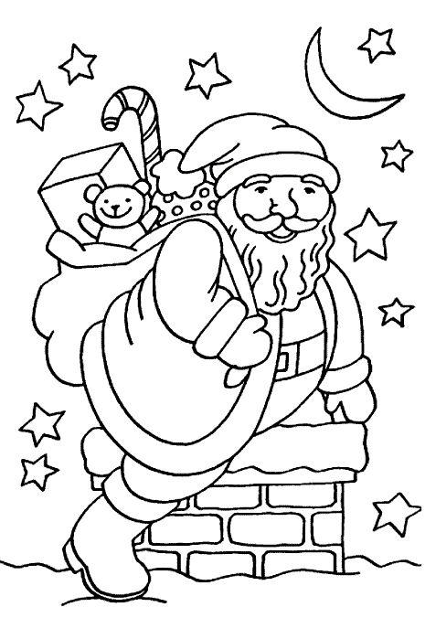 40 Desenhos Sobre O Natal Para Colorir E Imprimir Online Cursos