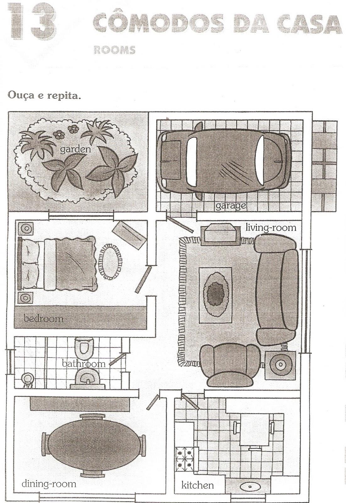 30 atividades de ingl u00eas partes da casa para imprimir