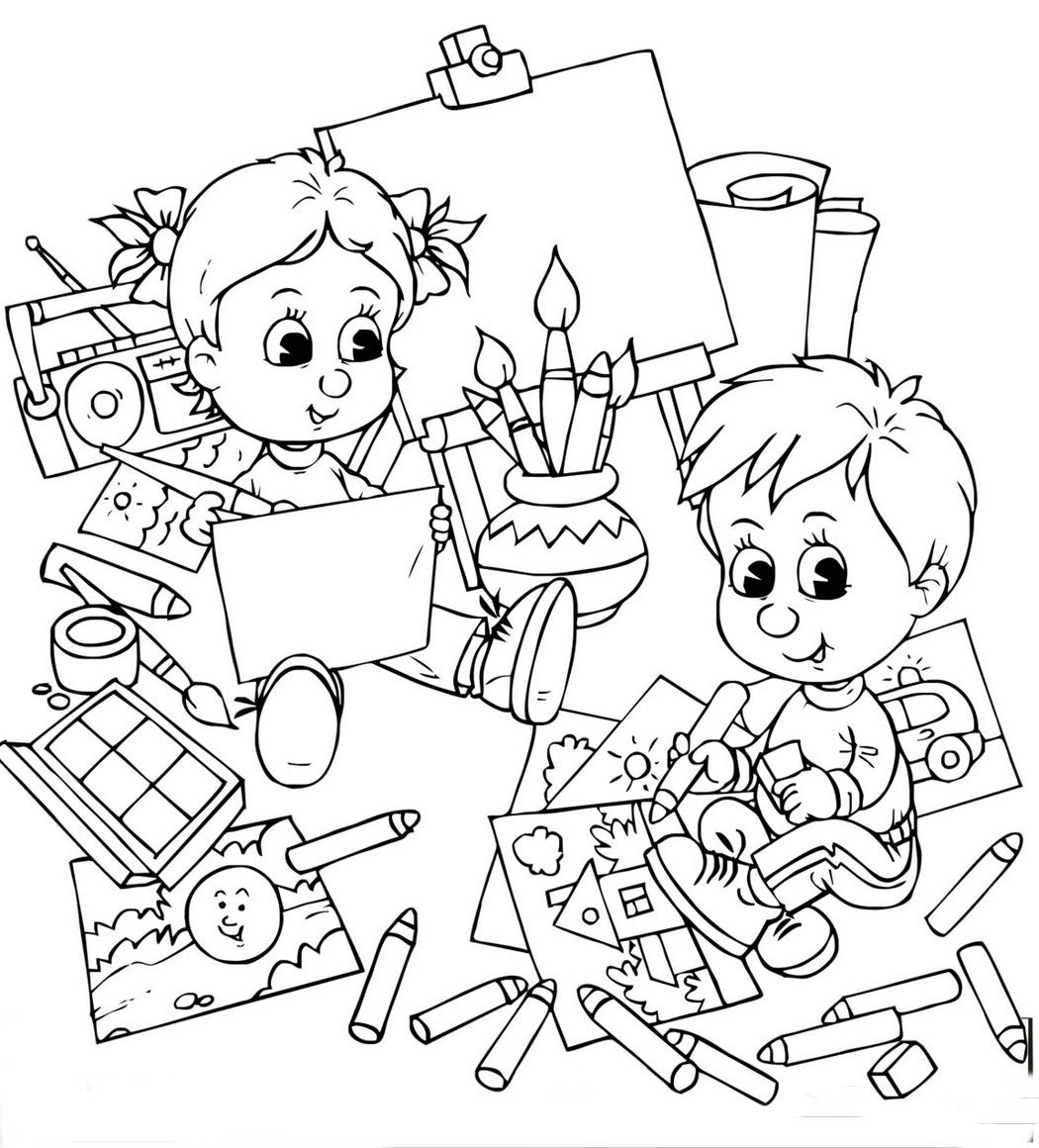 30 Desenhos De Volta As Aulas Para Colorir E Imprimir Online