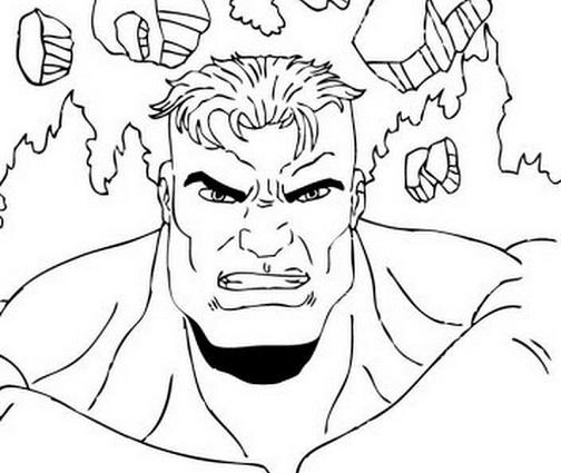 30 Desenhos Do Hulk Para Colorir E Imprimir Online Cursos Gratuitos