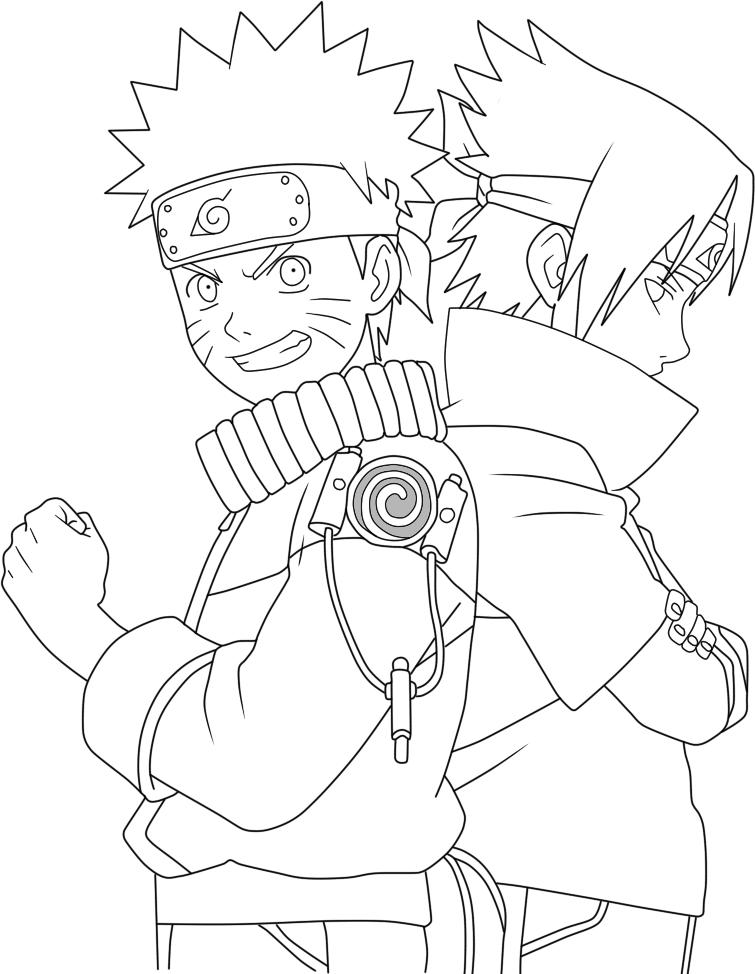 20 Desenhos Do Naruto Para Colorir E Imprimir Online Cursos
