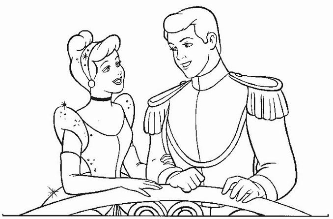 30 Desenhos Da Cinderela Para Colorir E Imprimir Online Cursos