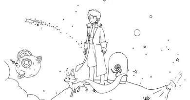 10 Desenhos do Pequeno Príncipe para Colorir e Imprimir