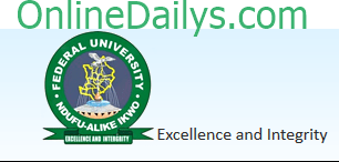 FUNAI 2014 Post UTME Result Checker