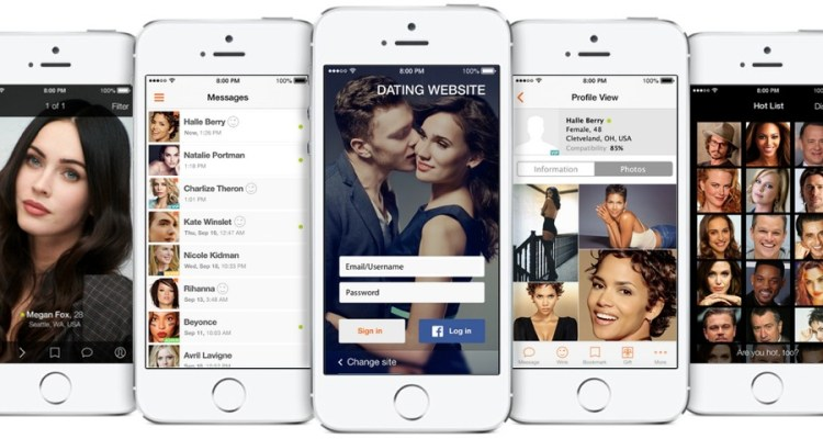 iphone dating software