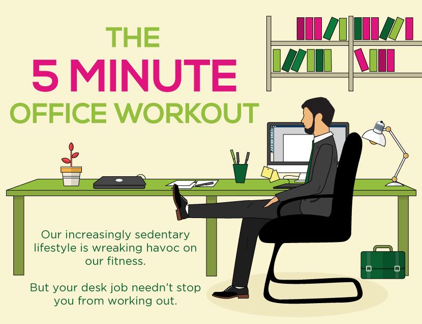5 Minute Exercise at Work  Everyman HealthEveryman Health