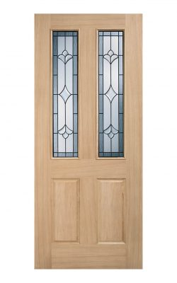 Salisbury Oak Part L Glazed External Door