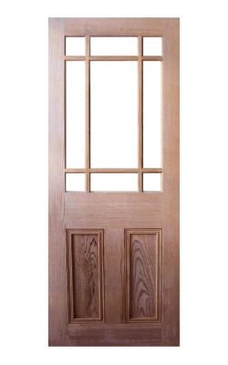 Victorian Pitch Pine Vestibule Unglazed Internal Door