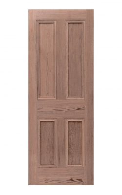 Victorian Pitch Pine Four Panel Internal Door