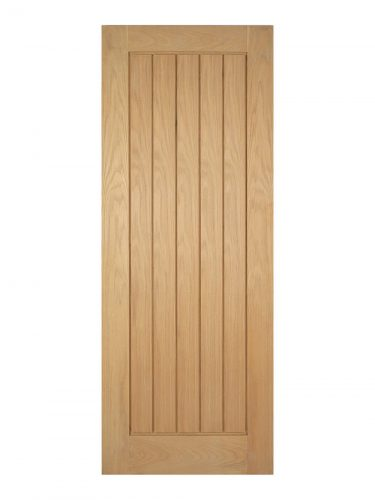 Unfinished Oak Mexicano Internal Door - Metric Size