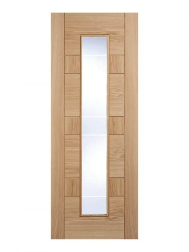 Pre-Finished Oak Edmonton Internal Glazed Door
