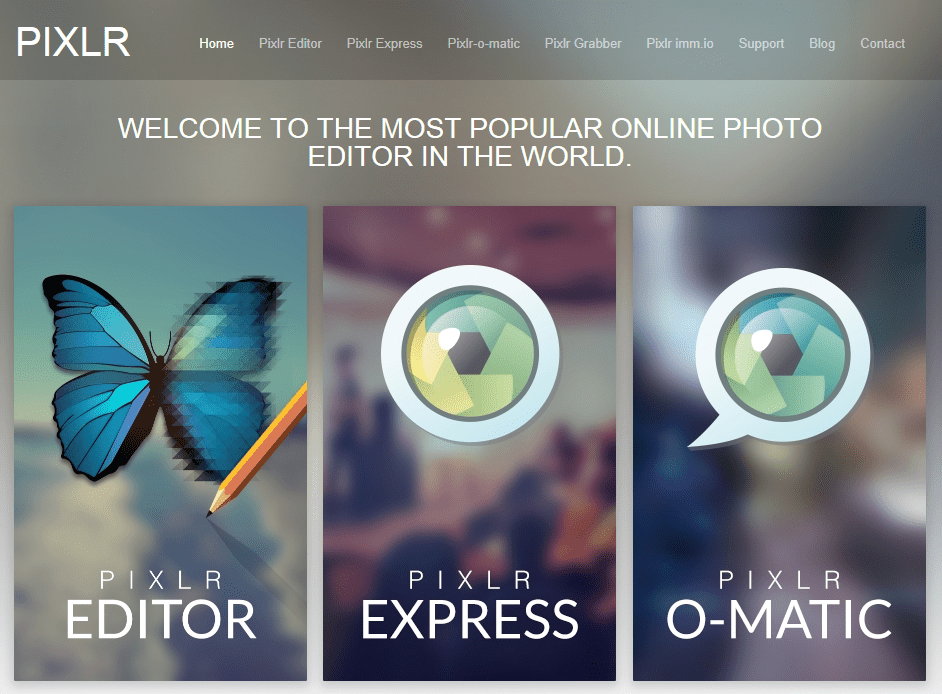 free online photo image editor