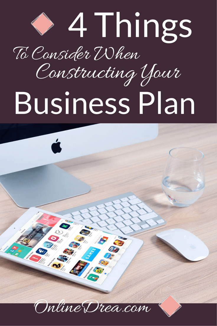 Constructing Your Business Plan