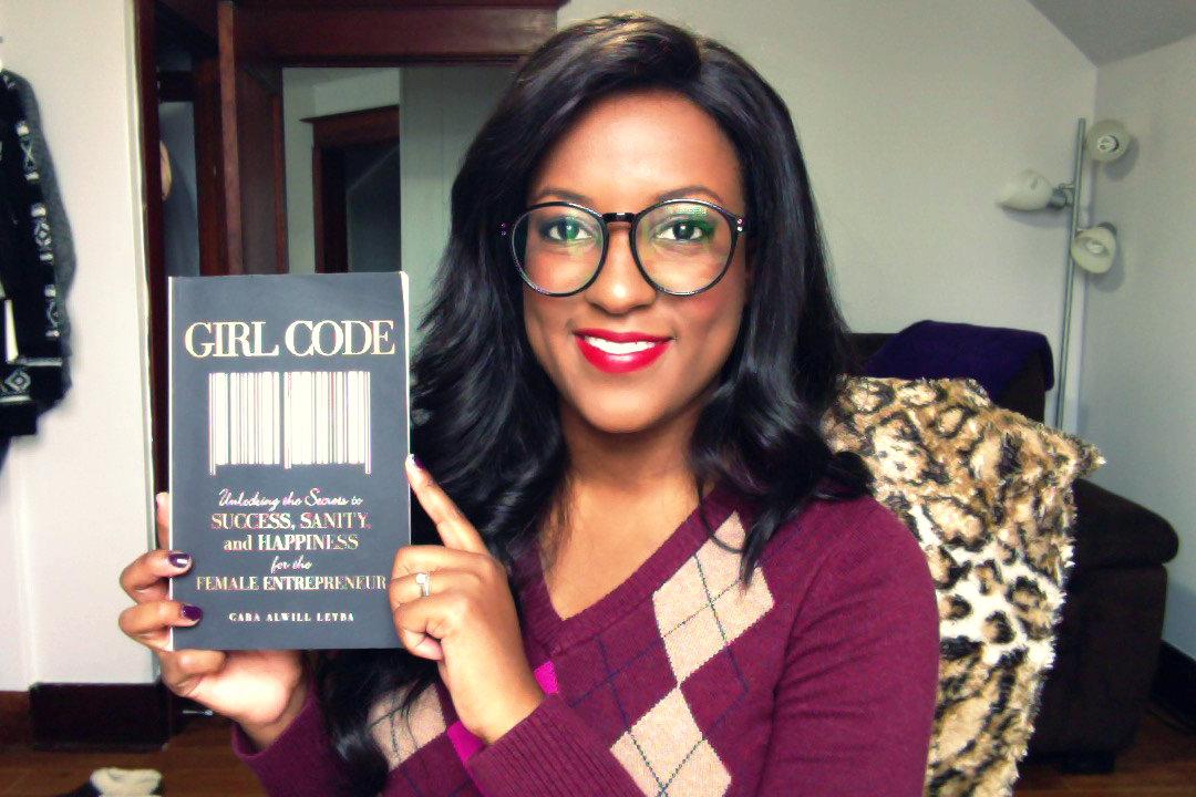 Girl Code Selfie
