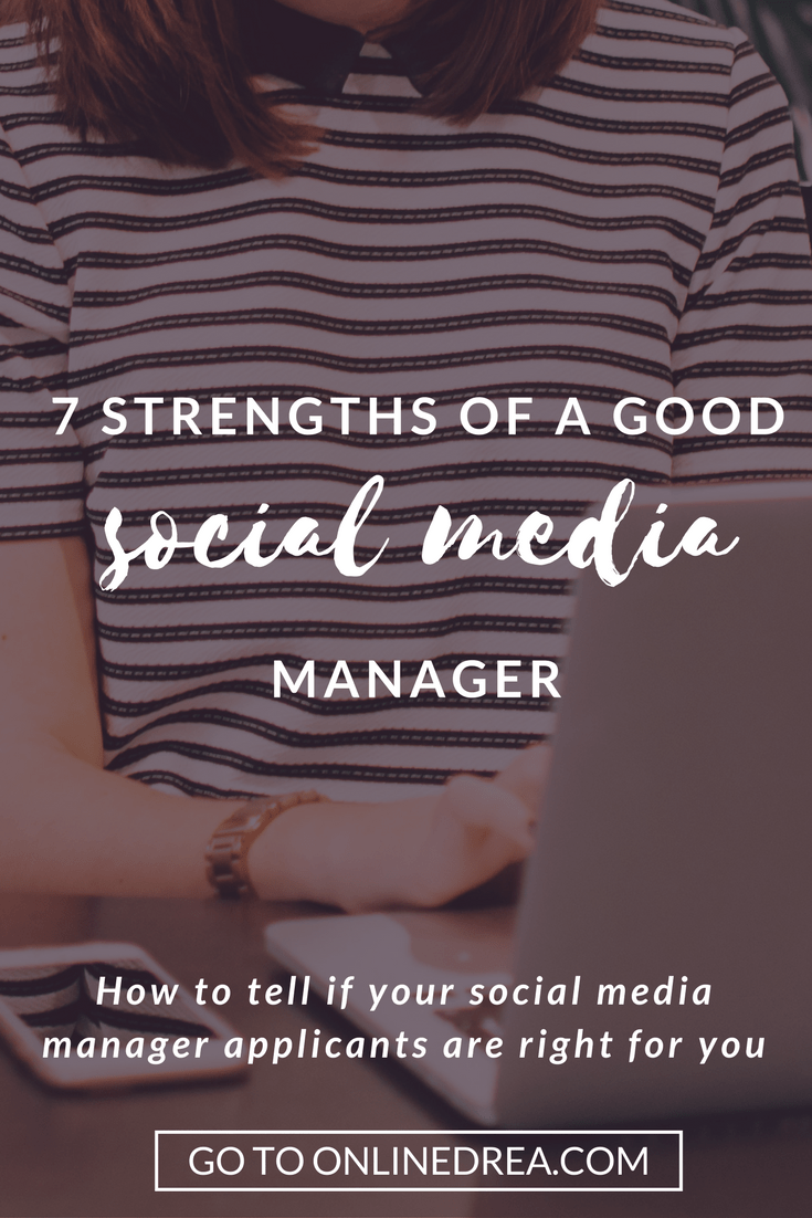 Looking for a social media manager? Here are four skills that I think they should have!