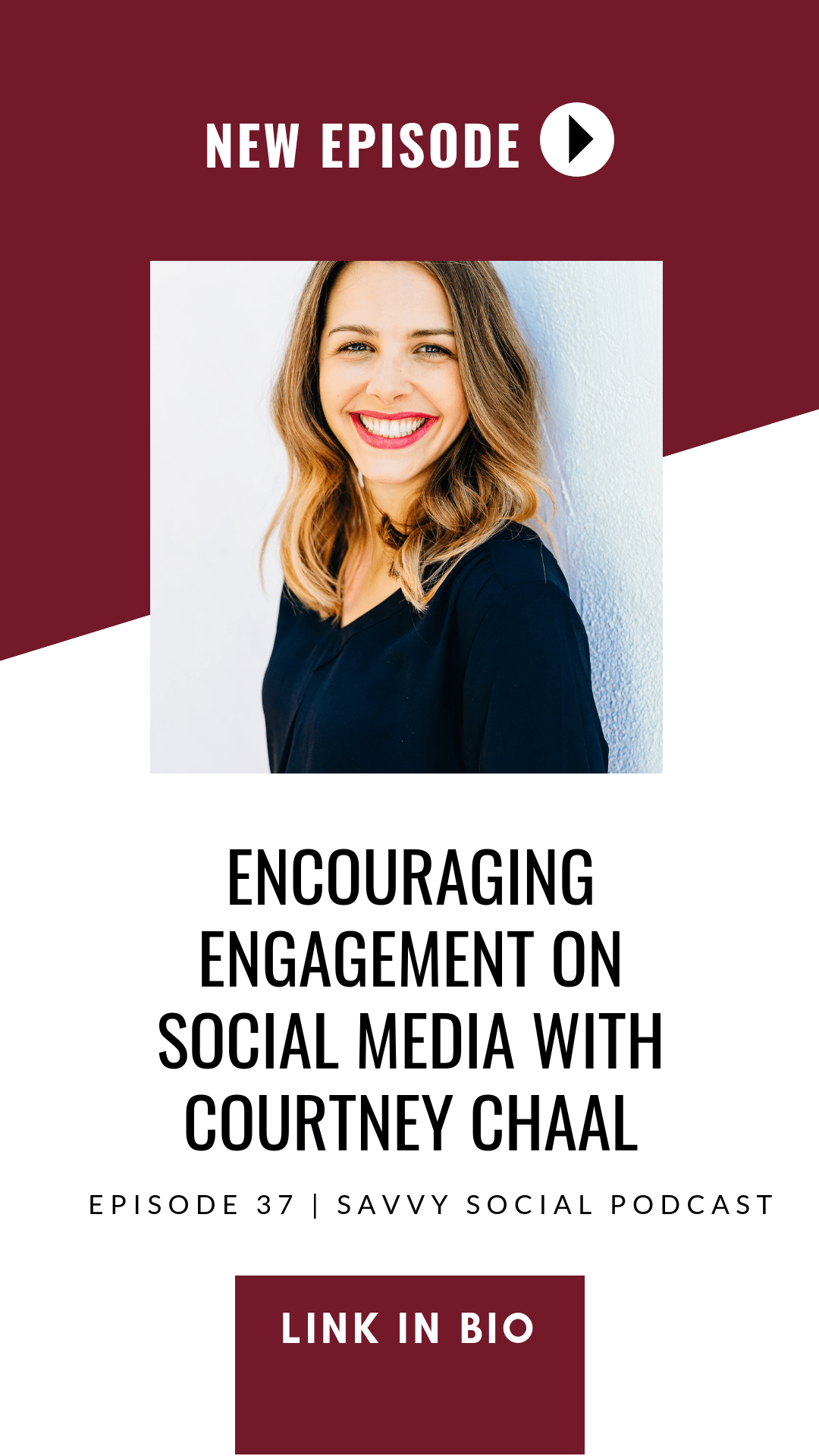 In this episode of the #SavvySocialPodcast, Courtney Chaal shares tangible ways you can use social media to start increasing your sales traffic.
