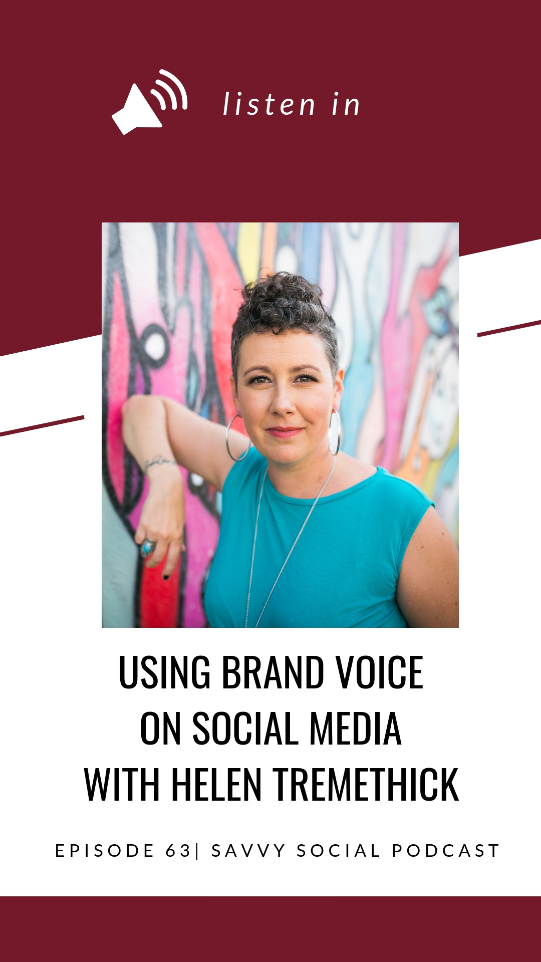 Before anyone will actually buy your services, donate to your cause, or subscribe to your show or newsletter, they need to know, like, and trust you. Developing this kind of connection requires a strong brand voice and a clear understanding of your audience. Helen Tremethick talks with me about how to find your brand voice, using your brand voice on social media.
