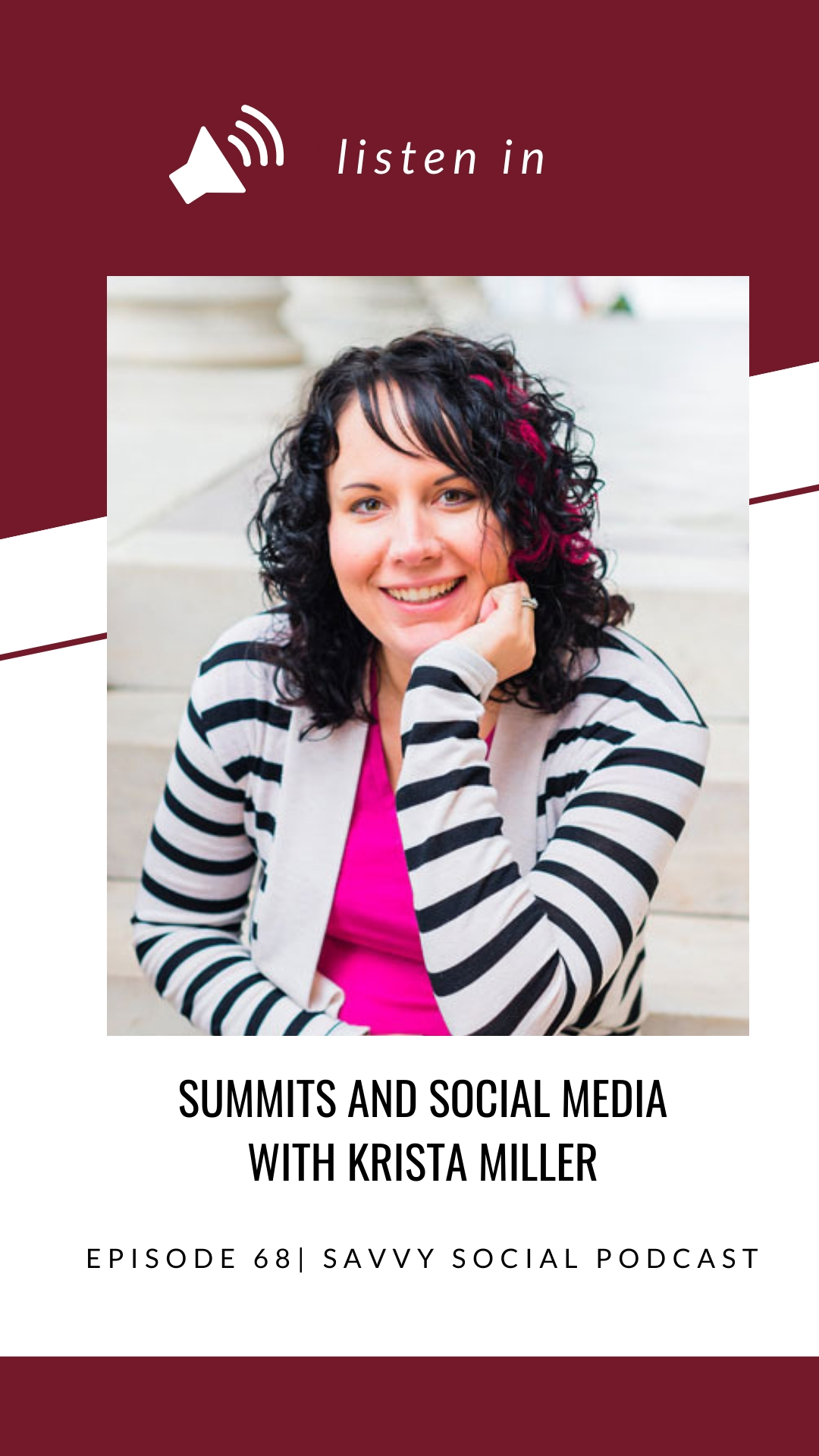 As an entrepreneur or business owner, you've probably heard that it's super important to narrow down your niche. Having a specific niche can help build your audience and your offering, but you may not know that it can also open the doors to hosting your own online summit! I talk with Krista Miller about how she got started in the world of summits, the value of knowing and understanding your niche, how live videos can encourage engagement, and how she uses Facebook Groups to build a summi...