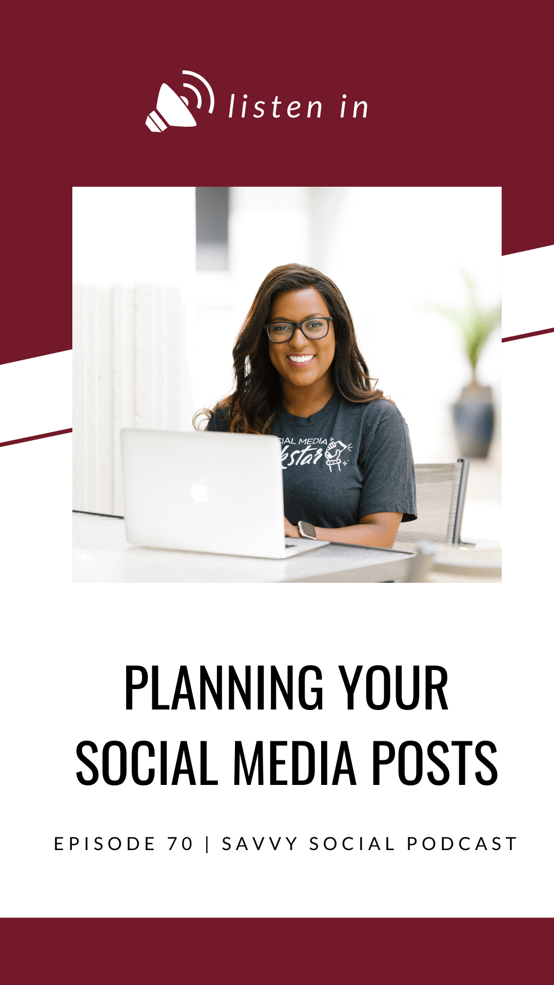 If you\'re a beginner at social media, you need to take the time to plan out what your posts are going to look like. Listen now for the tips you need to get started.