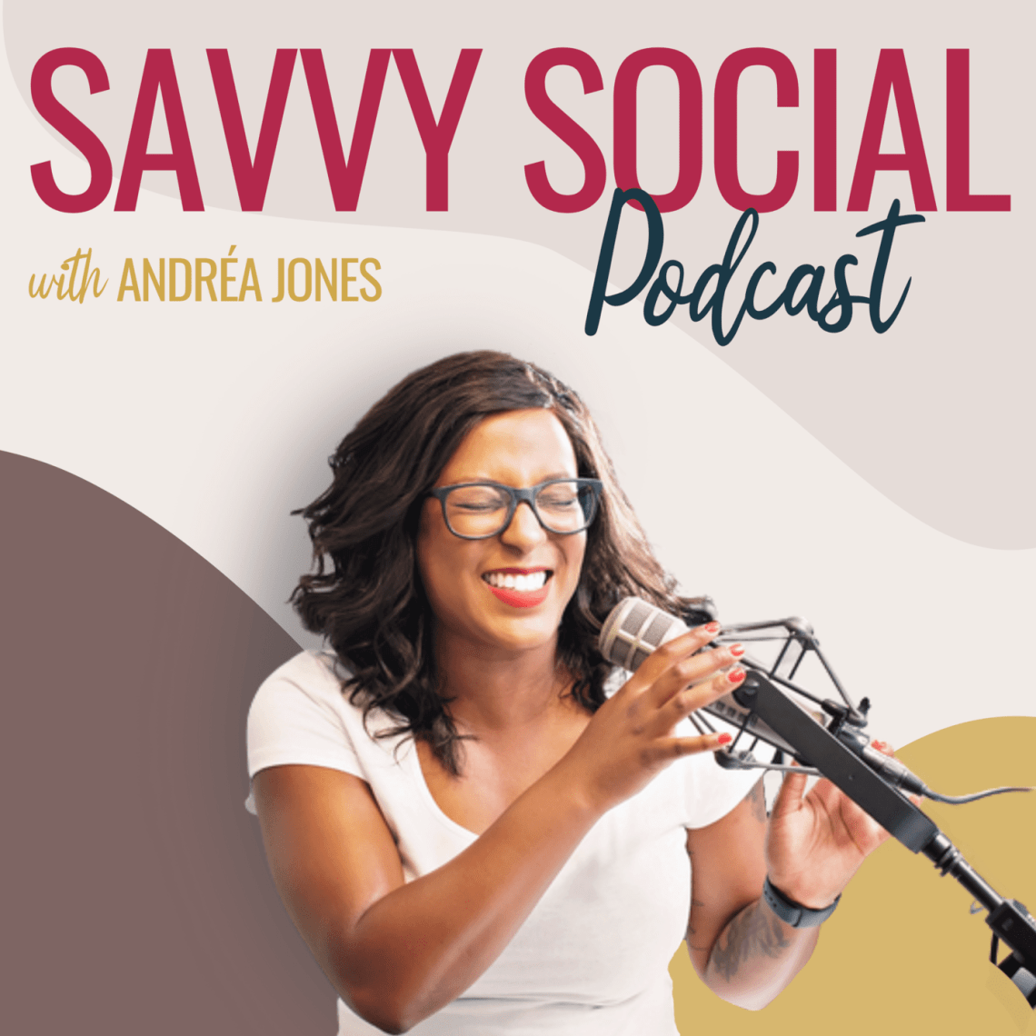 Savvy Social Podcast cover