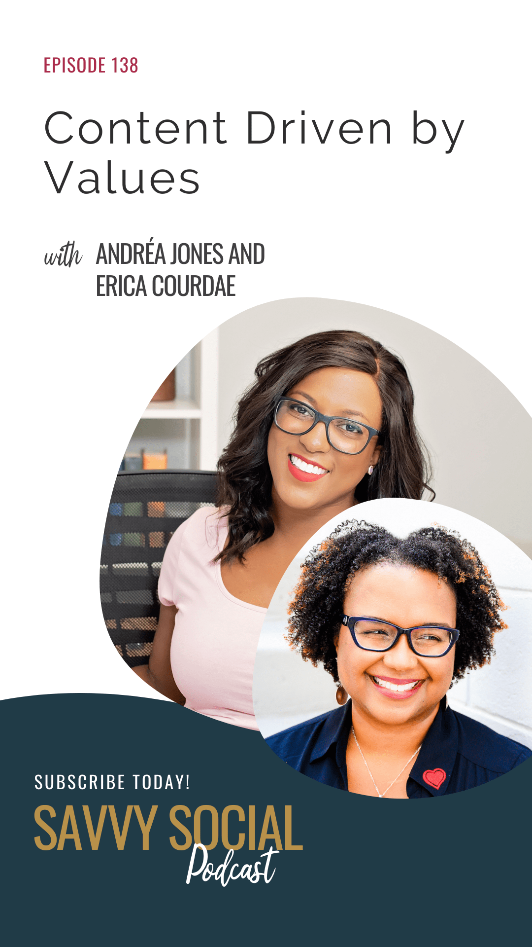 Content Driven by Values with Erica Courdae