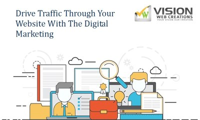 Drive Traffic Through Your Website With The Digital Marketing