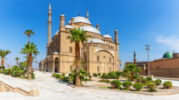 Mosque of Mohamed Ali Pasha in Cairo