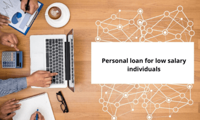 Personal loan for low salary individuals