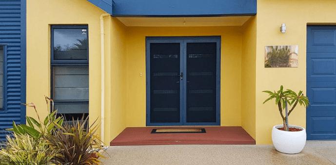 Security doors in Landmark 1