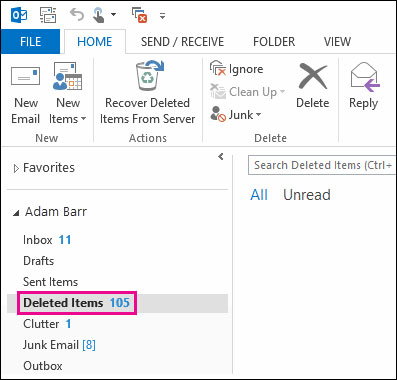 [Solved] How to Recover Deleted Tasks in Outlook 2