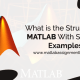structure in matlab