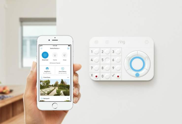 ring alarm smart home alarm