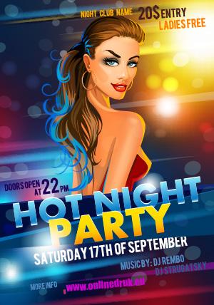 Plakat-Party